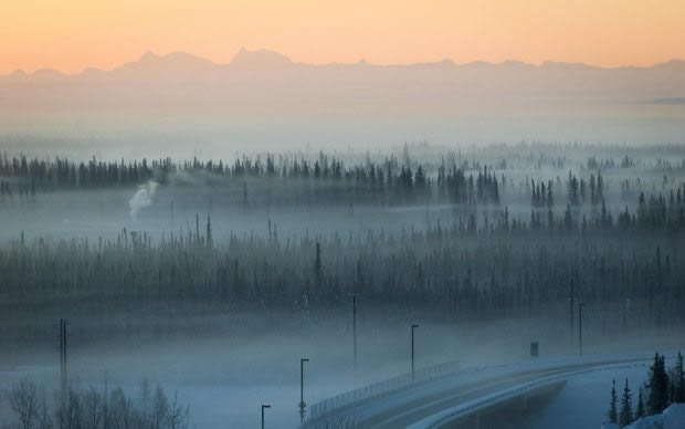 State and borough air-quality regulators are working to develop programs and staff to help clean up air pollution that sets in on cold winter days in Fairbanks. (Credit KUAC file photo)