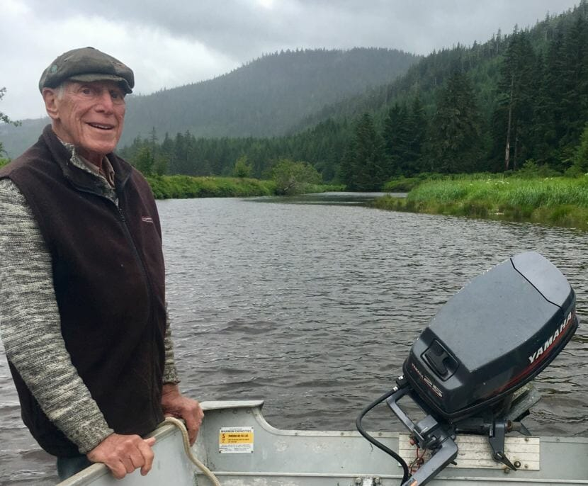 After retiring, Avrum Gross split his time between Hawaii, Italy and a historic cannery near Angoon that he used as a second home, family retreat and fishing hole.