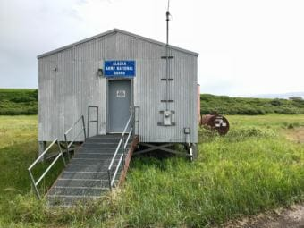 Alaska Army National Guard armory in Stebbins