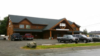 Juneau Mercantile and Armory, pictured here Sunday, Aug. 12, 2018, was the sight of a death investigation Saturday. (Photo by Tripp J Crouse/KTOO)