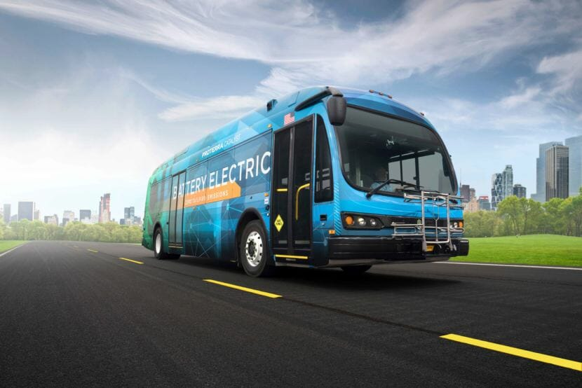 A Proterra Catalyst bus. (Image courtesy of Proterra)