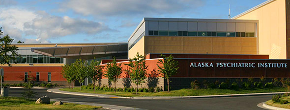 The Alaska Psychiatric Institute in Anchorage. (Photo courtesy of the Alaska Department of Health and Social Services)