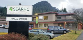 The Juneau campus of SEARHC, pictured here on Dec. 19, 2018, is located off Hospital Drive.