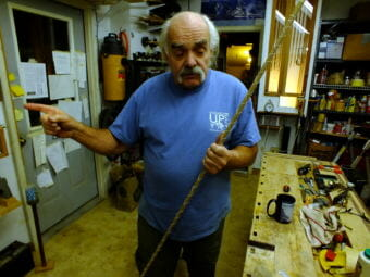 Jon Lyman describes how to make a bamboo fly fishing rod in his Juneau woodshop.