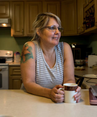 Lillian Sager, who is from King Cove and lives part time in Cold Bay, is a member of a large Aleut family that has tried to get the road built between the towns for decades.