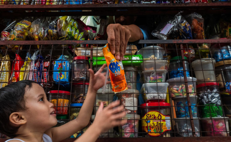 There are millions of sari-sari stores throughout the Philippines. Sachets, which are not recyclable, are a big part of their stock in trade.