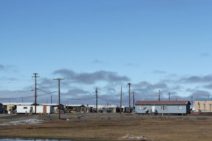 Nuiqsut in June 2018. The village is near a growing number of oil developments in the western Arctic.