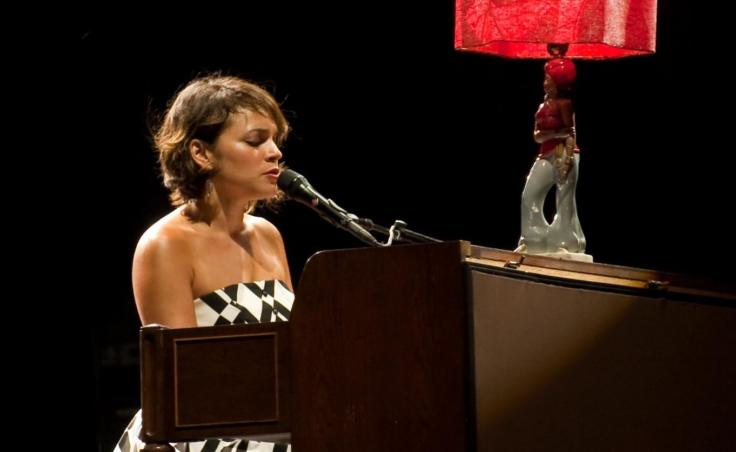 """Norah Jones performs on tour in 2010 promoting her album """"The Fall."""""""