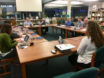 The Juneau School Board approved an operating budget for fiscal year 2020 at a special meeting on March 26, 2019. (Photo by Zoe Grueskin/KTOO)