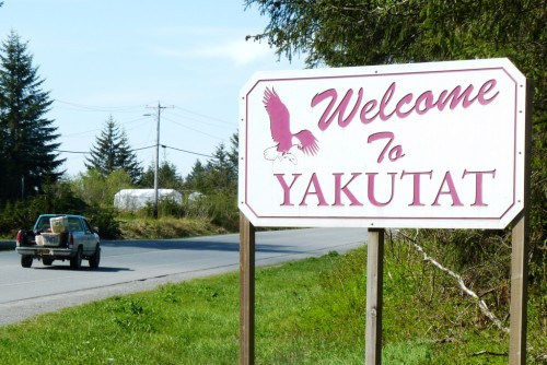 Yakutat is a coastal community of 600 people halfway between Anchorage and Juneau.