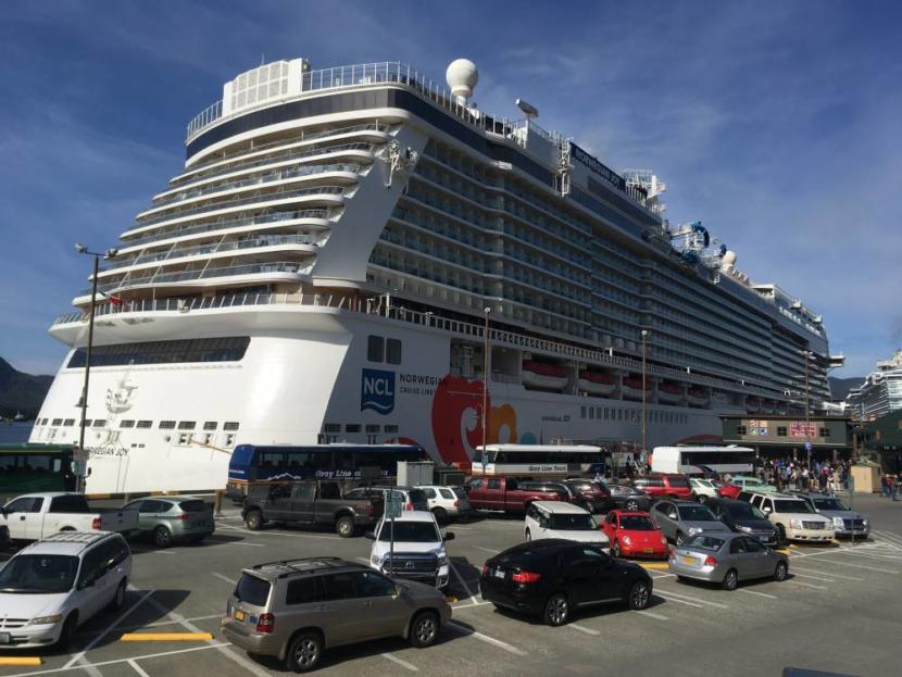 The Norwegian Joy visits Ketchikan on May 13, 2019.
