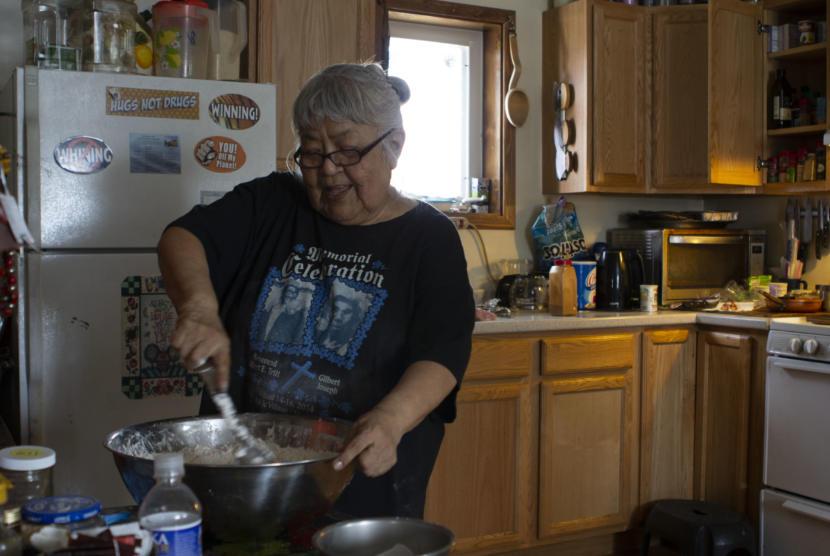 Sarah James (Photo by Elizabeth Harball/Alaska