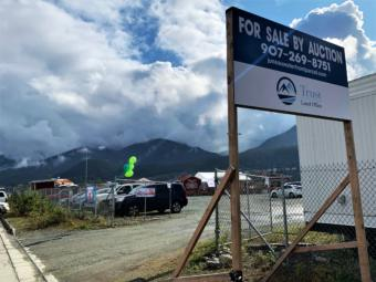 The Alaska Mental Health Trust Authority has put the waterfront property known as the subport up for sale. (Photo by Adelyn Baxter/KTOO)