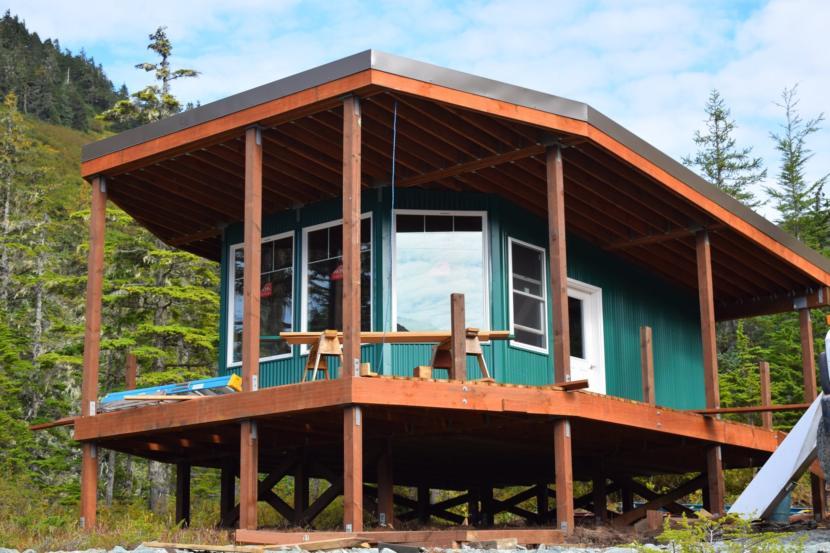 The Hilda Dam cabin. (Photo courtesy of Eagelcrest)