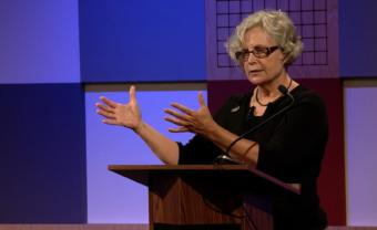 Dr. Carol Paris speaks during Forum@360 on Aug. 31, 2017 recorded in Juneau.