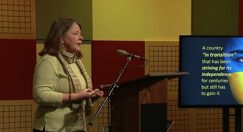 Mary Miller on the Peace Corps in Ukraine
