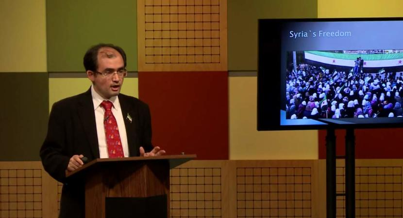 Syria: From Struggle for Freedom to Humanitarian Crisis with Radwan Ziadeh