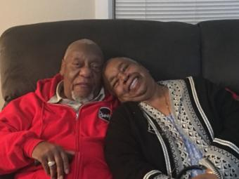 Robert Jackson, 84, and Karrold Jackson, 81, were passengers on the Grand Princess, the cruise ship held for days off the California coast after passengers tested positive for coronavirus. (Photo courtesy Erin Jackson)