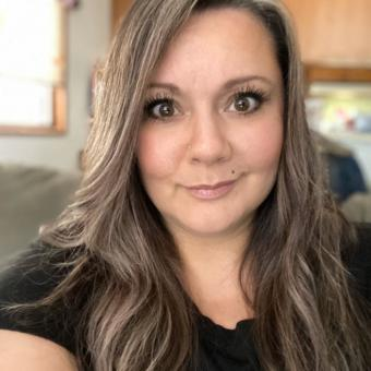 Juneau woman Laura Jim snapped this selfie on March 27, 2020, her sixth day ill with COVID-19.