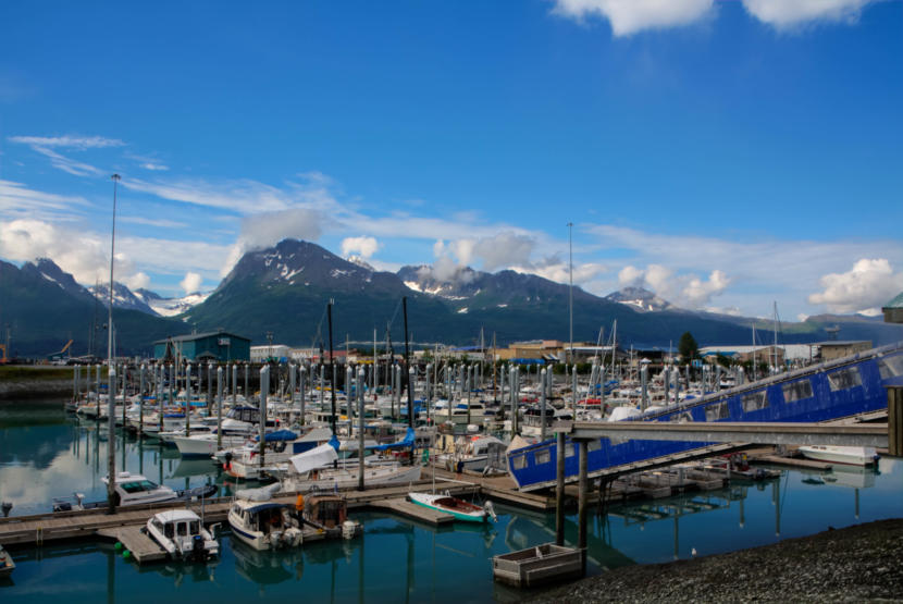 The City of Valdez harbor in 2014. (Creative Commons Photo courtesy Ronald Woan/Flickr)