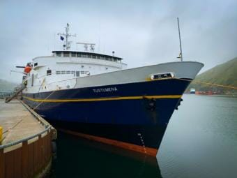 Per company protocol, crew and passengers are not required to have a COVID-19 test prior to boarding AMHS vessels.