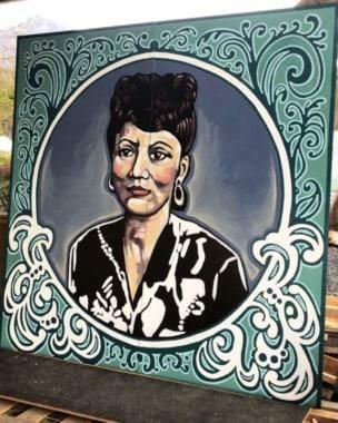 A new mural of Elizabeth Peratrovich
