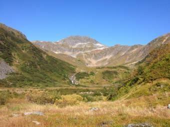 Granite Creek Basin on a sunny September day