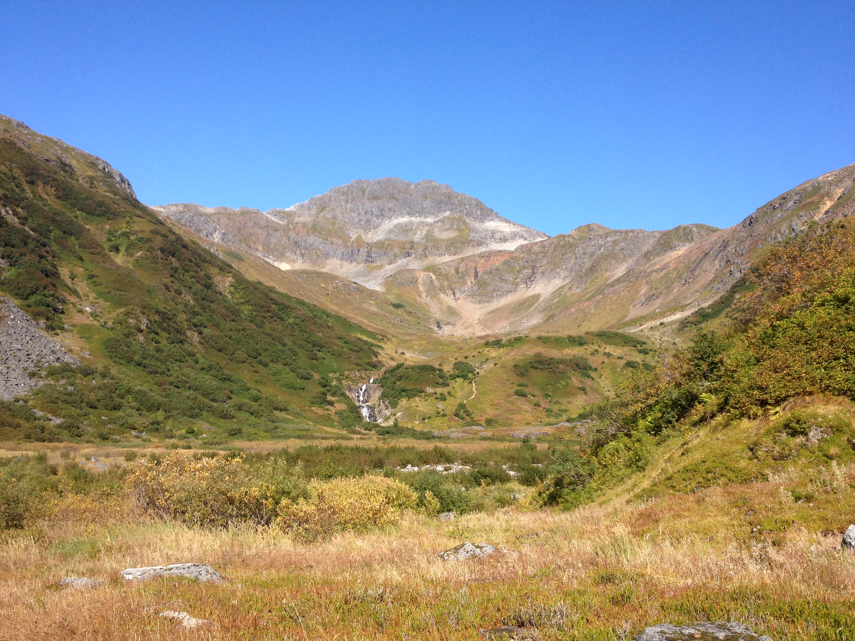 Granite Creek Basin on a sunny September day