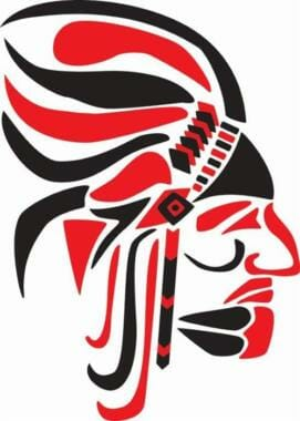 Current Wasilla High School Warriors logo