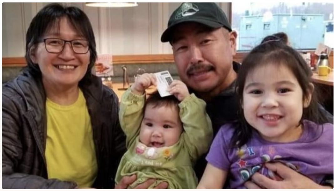 David Berlin with his family. The 51-year-old died in a boating collision. (GoFundMe photo)