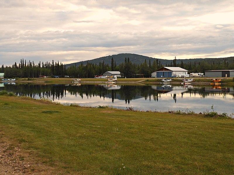 Chena Marina Airport, near the location of the crash, is a floatplane base on the outskirts of Fairbanks, Alaska.  (Photo courtesy RadioKAOS via Wikimedia commons)