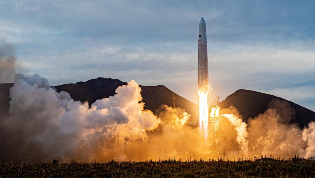 The Astra rocket launch in Kodiak Alaska on Sept. 11, 2020.