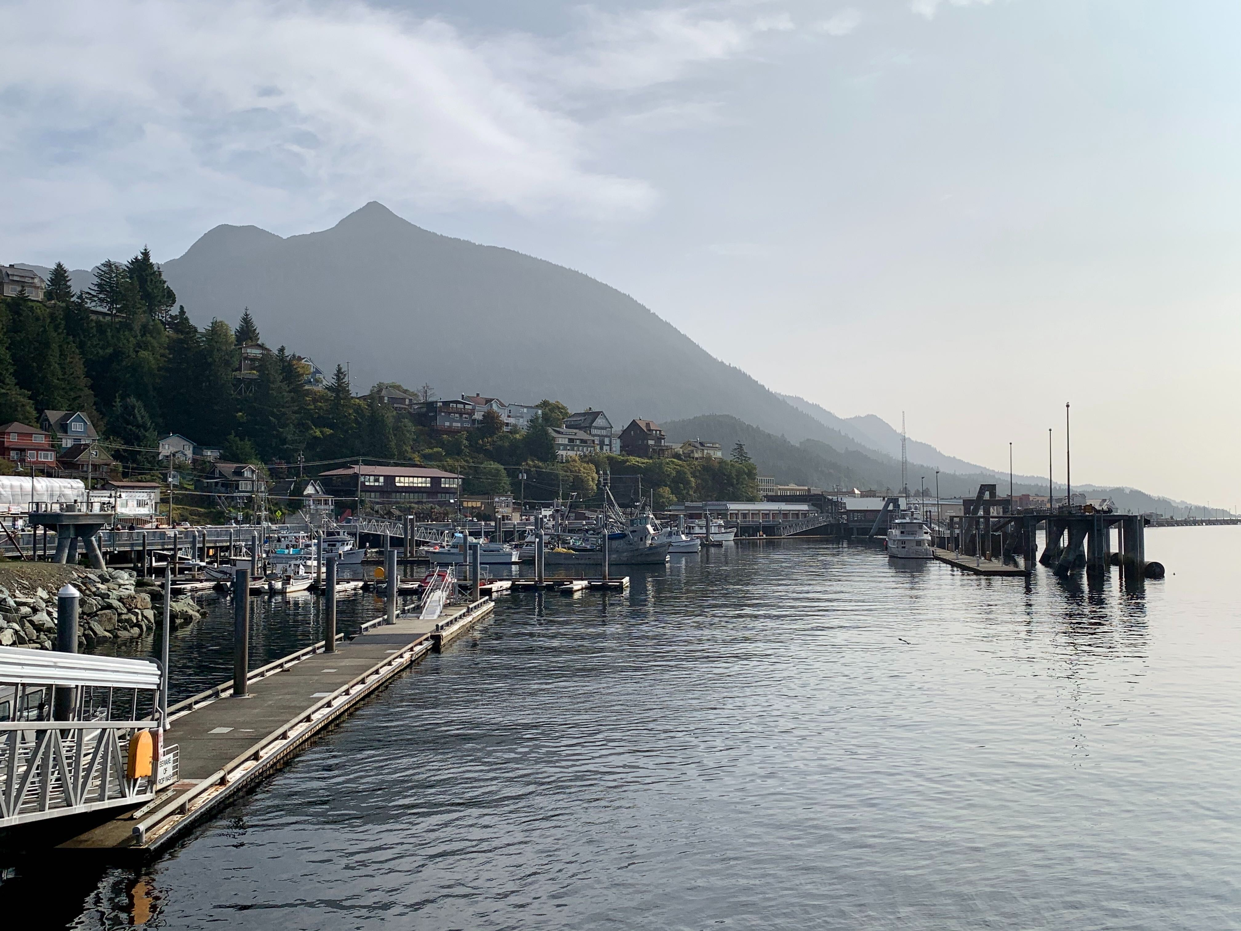 Smoky haze covered Ketchikan on Wednesday. The National Weather Service said it's not anticipated to pose a health hazard.