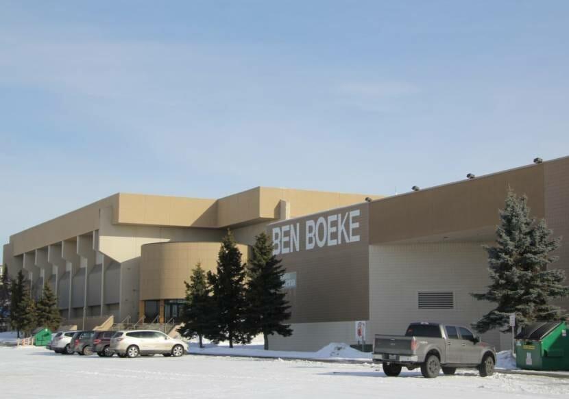 The Ben Boeke Ice Arena. (Zachariah Hughes/Alaska Public Media)