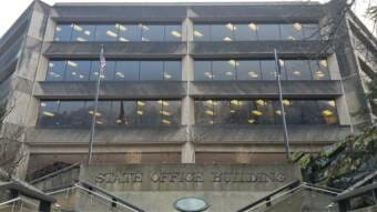State Office Building Fourth Street entrance 2021 01 22