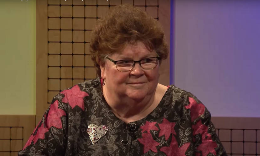 Former Alaska House Speaker Gail Phillips appears in a 2017 interview with Tim Bradner on Capitol Views on KTOO 360. (Capitol Views screen capture)