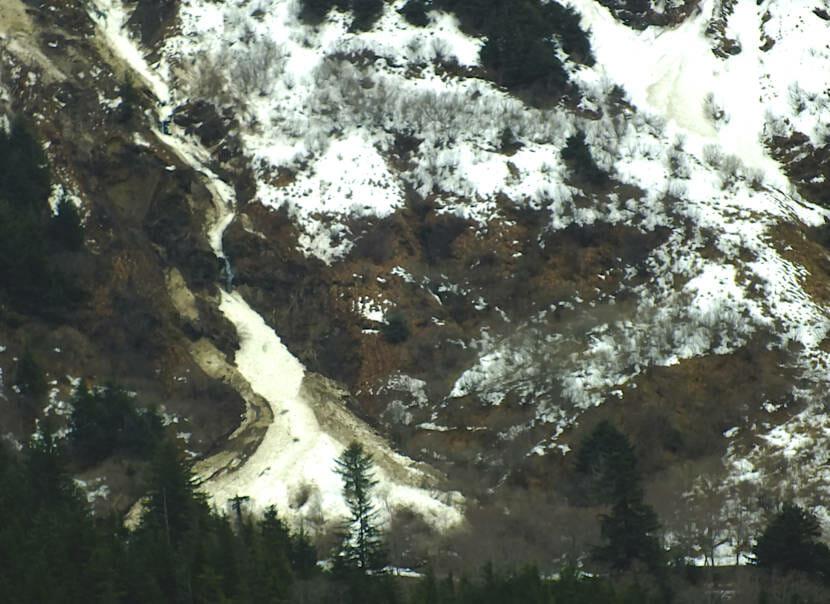 April 13, 2021 Mt. Juneau slide