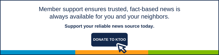 Member support ensures trusted, fact-based news is always available for you and your neighbors. Support your reliable news source today. Support your reliable news source today. Donate to KTOO.