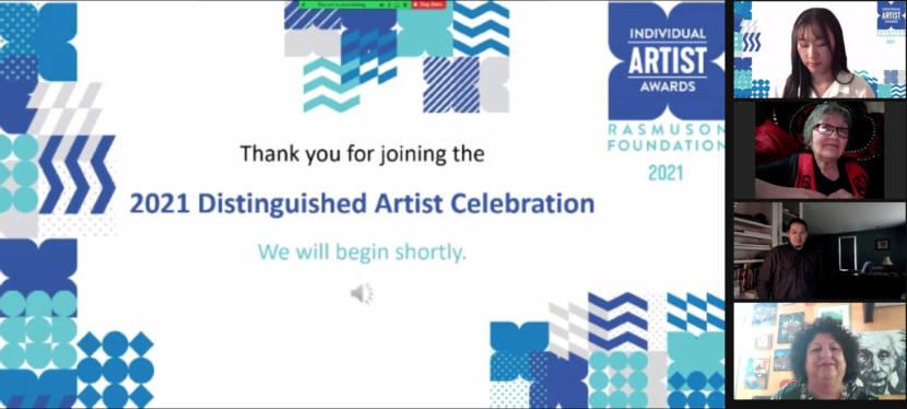 The Rasmuson Foundation named Juneau writer Ernestine Hayes its 2021 Distinguished Artist Friday