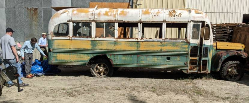 'She Needs a Lot of Work': Museum of the North Staff Begin Work on 'Into the Wild' Bus