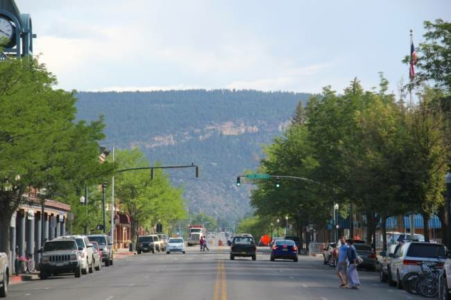 Main Street on July 2, 2013 in Durango, Colorado. Former Juneau chiropractor Jeff Fultz has been accused of assaulting 12 women while working at the Southeast Alaska Regional Health Consortium. He is currently out on bail and living in Durango. (Photo courtesy Daveynin/Flickr)