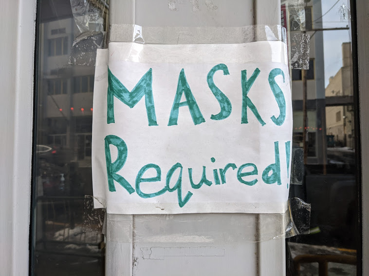 Should you be wearing a mask indoors in your part of Alaska? There's a map for that.