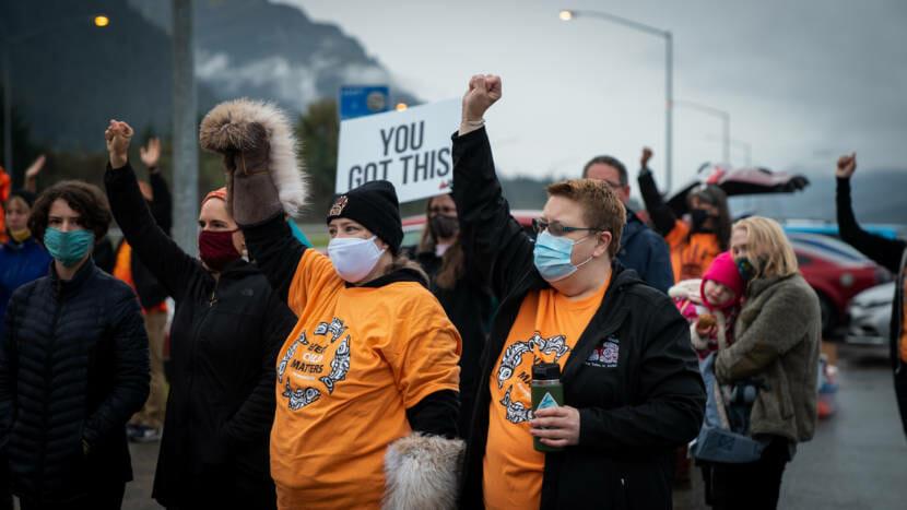 Orange Shirt Day in Juneau Alaska