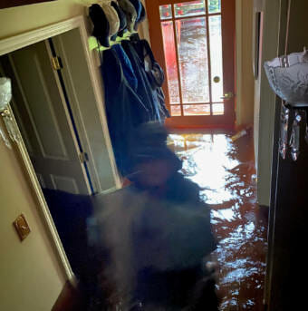 Inside flood